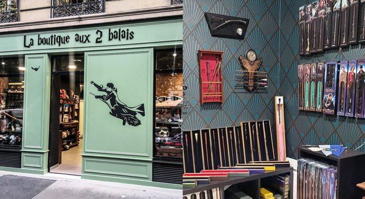 (le moov)Une boutique Harry Potter a ouvert à Paris !