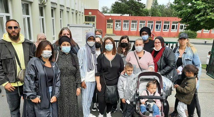 (mouv.fr)Médine et des parents d'élèves sauvent une école au Havre