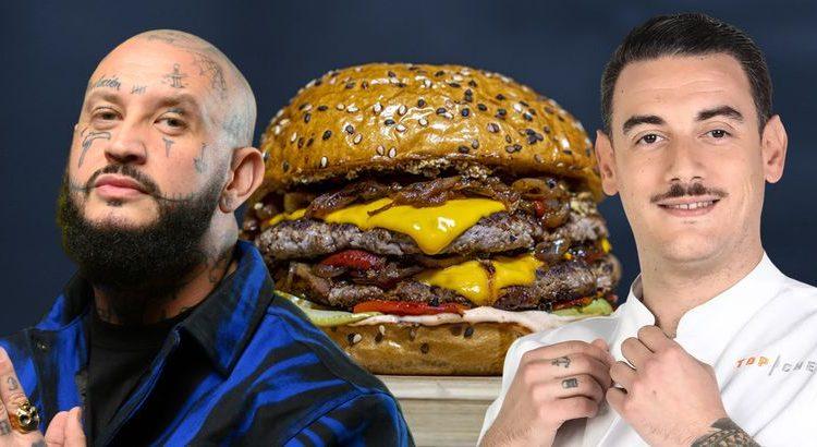 (le moov)Arnaud de Top Chef va lancer un burger avec Seth Gueko