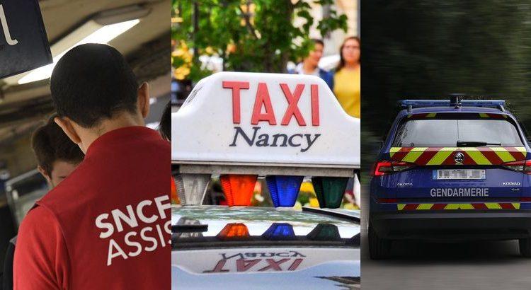 (le moov)Il arrive à l'heure pour le Bac grâce à la SNCF, un taxi et des gendarmes !