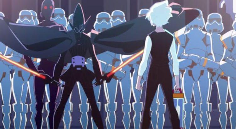 """(le moov)""""Star Wars"""" : un anime en cours de préparation"""