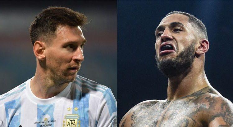 """(le moov)Tony Yoka : """"si Messi gagne le Ballon d'Or, ça sera le plus moche et le plus éclaté de l'histoire"""""""