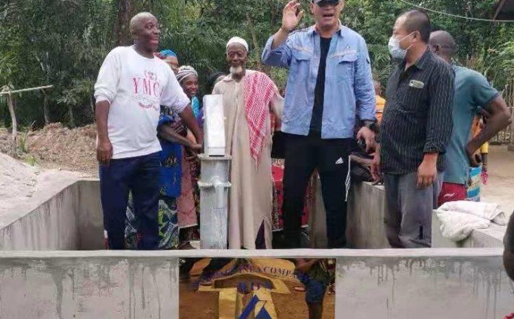 Adduction d'eau potable : Chalco Guinea Company S.A offre un forage à la population de Bondy à Boffa