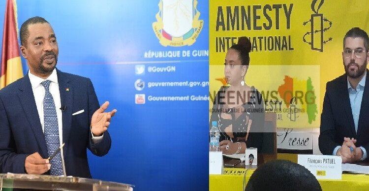 (guineenews)Répression des opposants en Guinée : Amnesty accuse, le gouvernement se défend