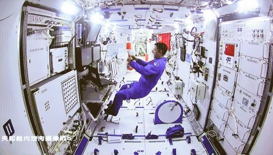 (guineenews)Les astronautes chinois ont réussi leur première sortie dans l'espace dans le cadre de la construction de la station spatiale chinoise