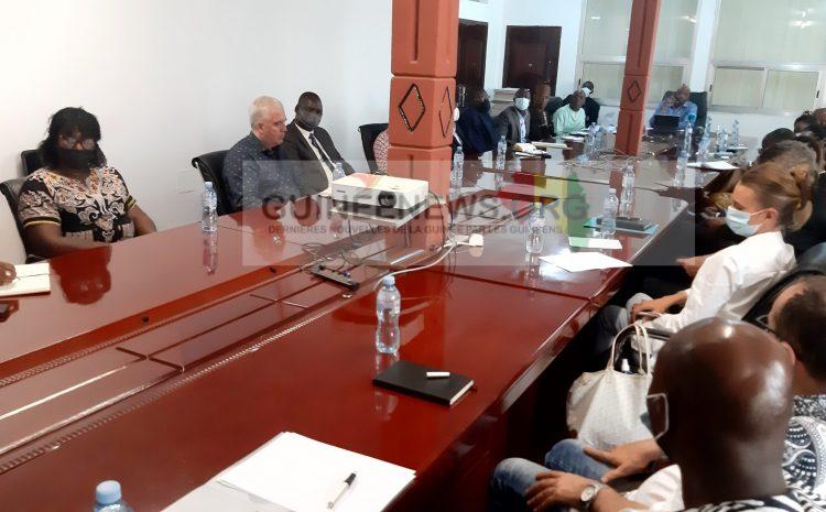 (Guineenews.org)Problématiques des télécoms : le ministre de tutelle rencontre les acteurs du secteur