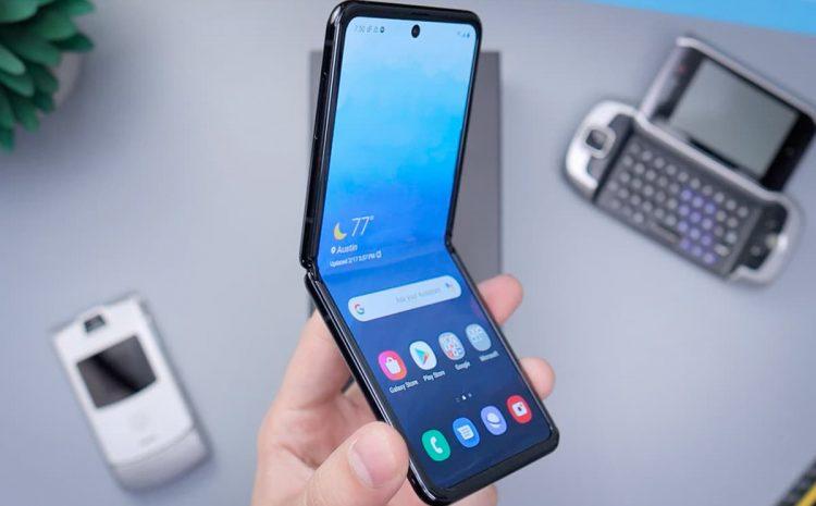 (phonandroid.com)Samsung lancerait un Galaxy Z Flip moins cher en plus du Z Flip 3 en août
