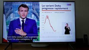 (rfi.fr)Covid-19: Emmanuel Macron serre la vis sur la vaccination pour ne pas hypothéquer la relance.