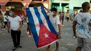 (rfi.fr)Cuba: une colère qui puise sa sève dans le marasme économique.