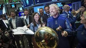 (rfi.fr)Course à l'espace entre milliardaires: Richard Branson veut s'y rendre avant Jeff Bezos.