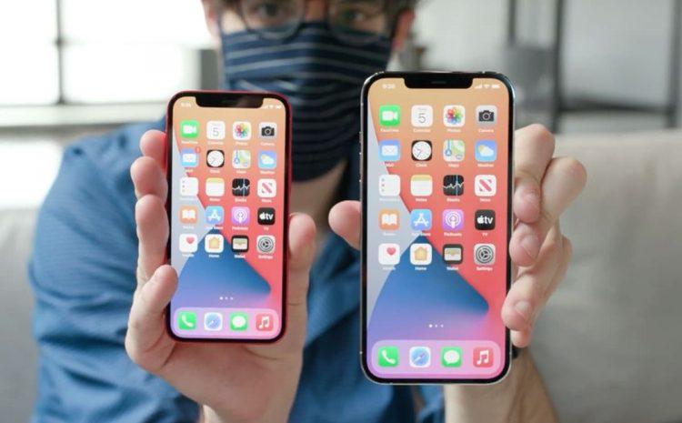 (phonandroid.com)Apple lancerait un iPhone 14 avec écran 6,7 pouces moins cher en 2022