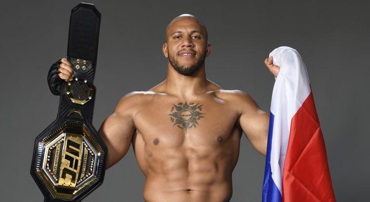 """(le moov)Ciryl Gane : """"On va tout faire pour amener l'UFC en France"""""""