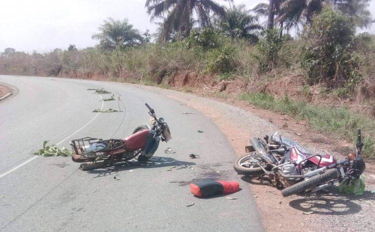 (guineenews)Yendè-Kissidougou : la collision entre deux motos fait trois morts
