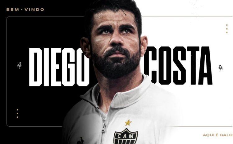 (F11)Mercato : Diego Costa rentre au pays et signe à l'Atlético Mineiro (Brésil)