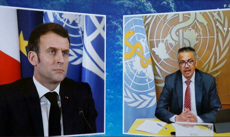 (rfi.fr)Santé: Emmanuel Macron et Tedros Adhanom Ghebreyesus installent à Lyon l'académie de l'OMS