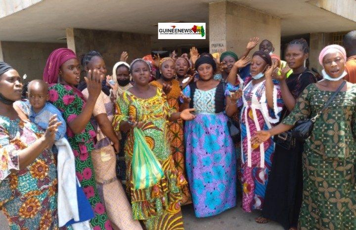 (Guineenews.org)Les épouses des militaires détenus plaident la cause de leurs maris auprès du CNRD