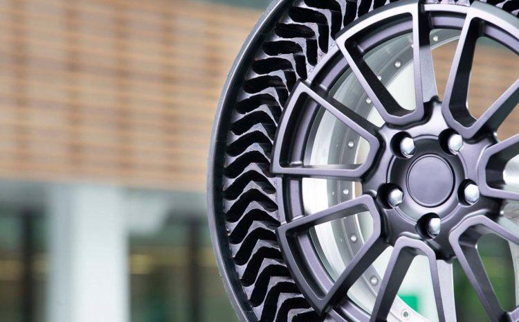 (phonandroid.com)Michelin lance Uptis, des pneus sans air pour les véhicules de tourisme