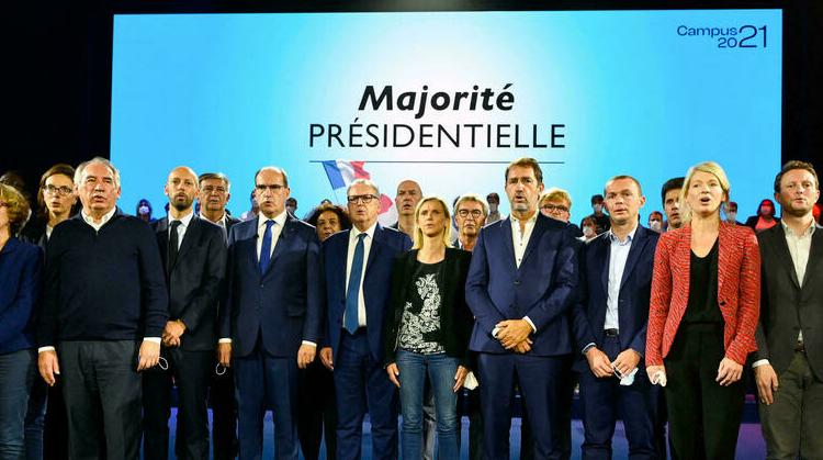 (rfi.fr)Présidentielle 2022: les macronistes entre prudence et confiance