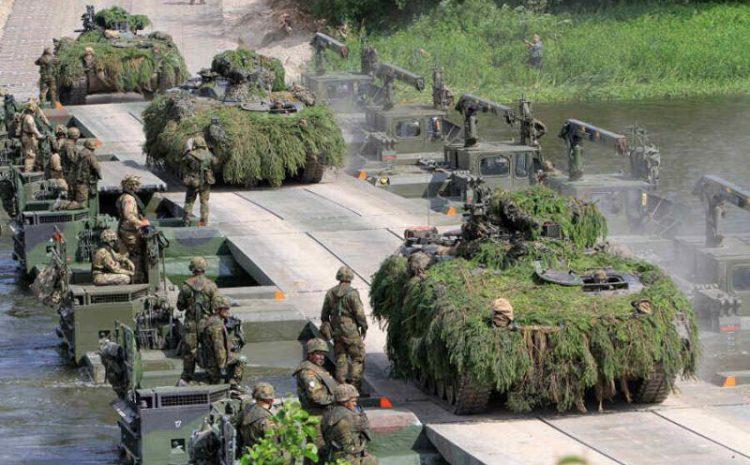 (observateurcontinental)L'Otan lance l'exercice Iron Wolf près de la frontière biélorusse