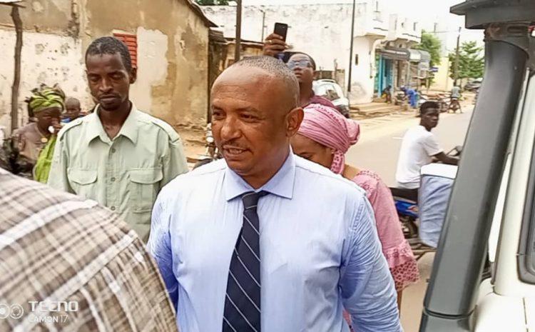 (Guineenews.org)Grave incendie au marché de N'zérékoré: le président du GOHA appelle à une solidarité avec les victimes